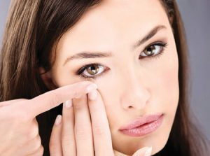 Зрение контактные линзы